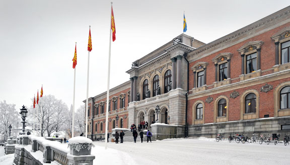 Uppsala University main building, photo